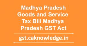 MP GST Act