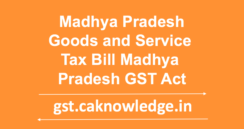 MP GST Act