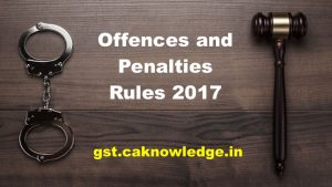 Offences and Penalties Rules
