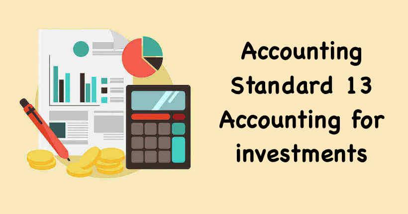 Accounting Standard 13