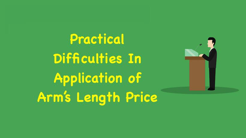 Arms Length Price