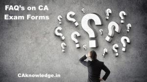 CA Exam Forms