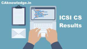 ICSI Result, CS Result