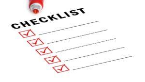 Checklist for Company Incorporation in India