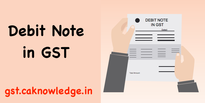 Debit Note in GST