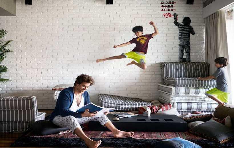 Hrithik Roshan Home