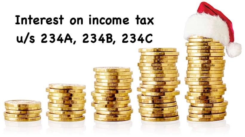 Interest on income tax u/s 234A, 234B, 234C