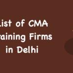 Top CMA Firms in Delhi