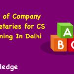 Company Secretary in Delhi