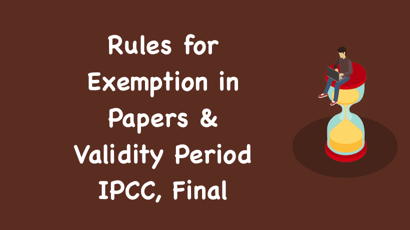 Rules for Exemption in Papers