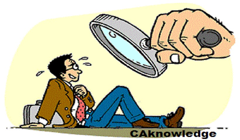 Scrutiny Assessment under Income Tax Act