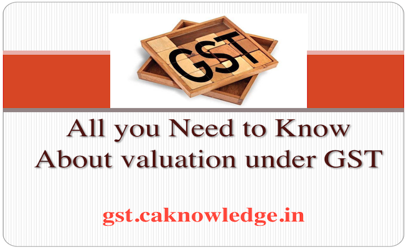 Seven things to know about valuation under GST