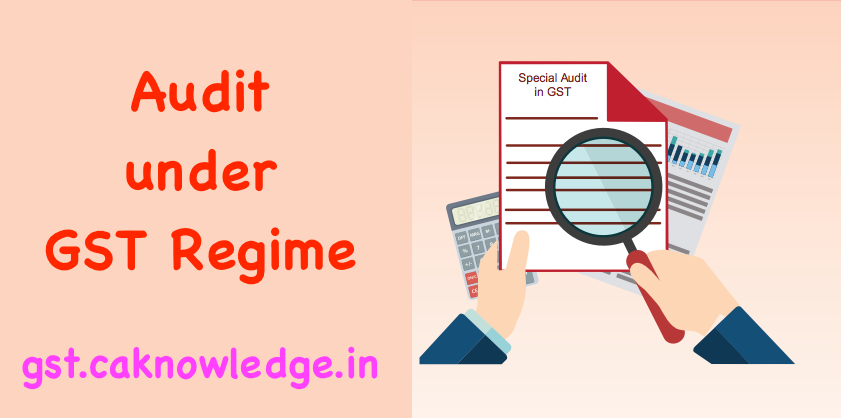 Special Audit in GST