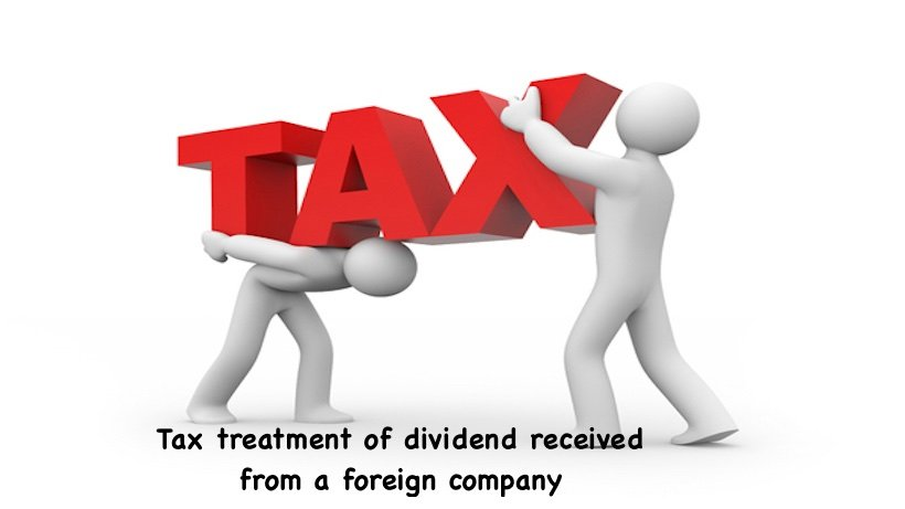 Tax treatment of dividend received from a foreign company