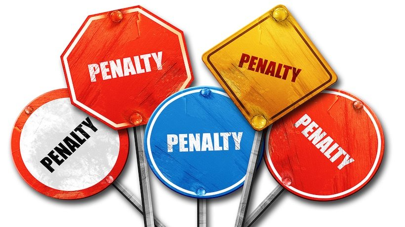 Various Fines & Penalties Chart under Companies Act 2013