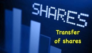 Procedure for Transfer of shares