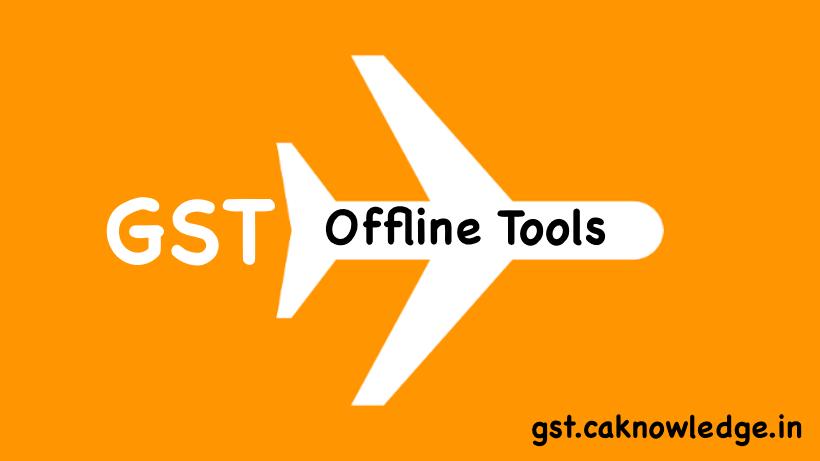 GST Offline Tools
