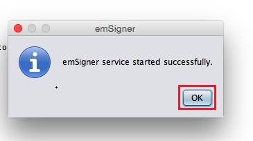 Troubleshoot Digital Signature Certificate mac