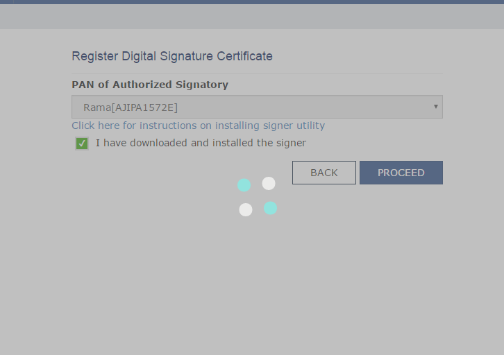 Troubleshoot Digital Signature Certificate visible
