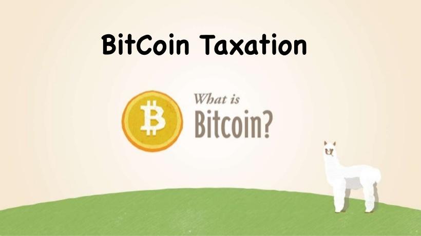 BitCoin Taxation