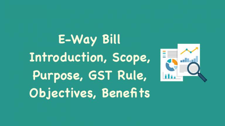 E-Way Bill Introduction
