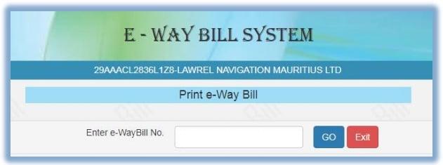 Printing EWB