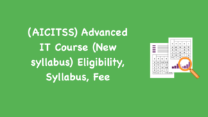 Advanced IT Course AICITSS