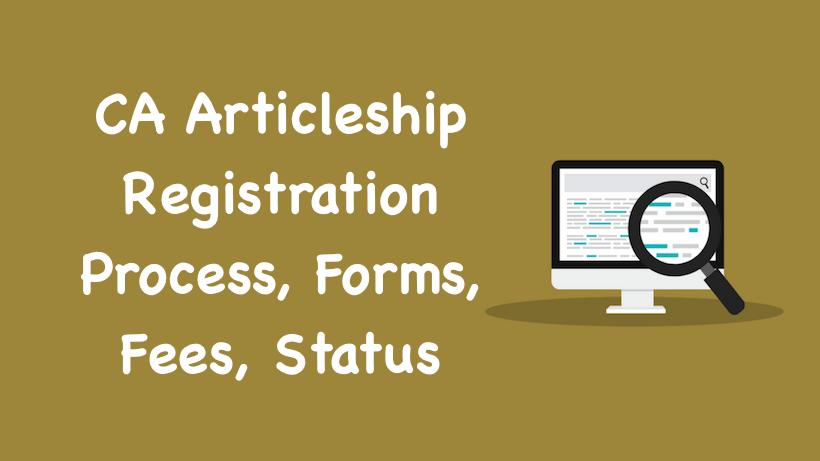CA Articleship Registration