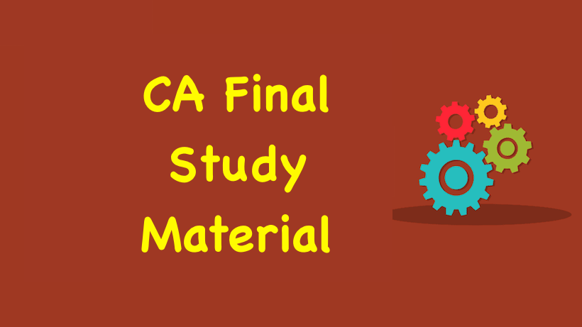 CA Final Amendments and Updates Applicable for May 2019 ...