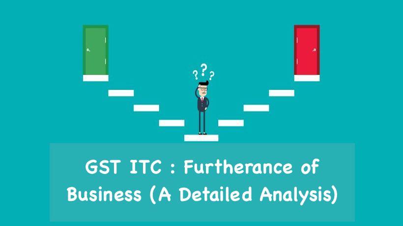 GST ITC