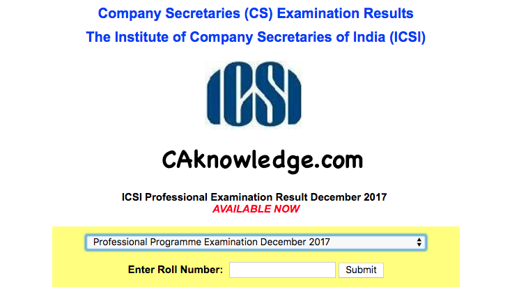 cs result