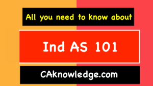 Ind AS 101