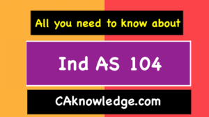 Ind AS 104