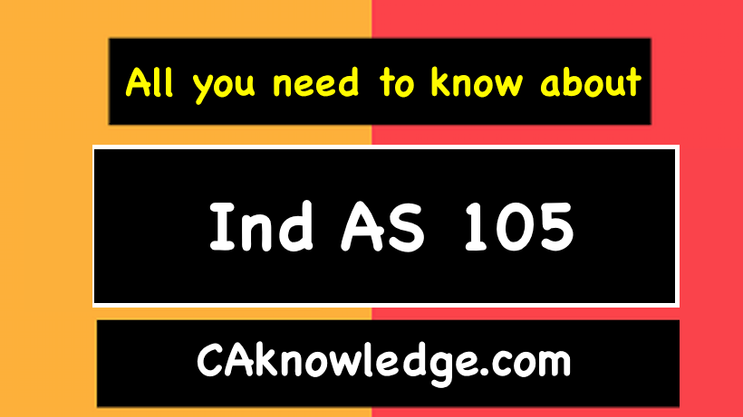 Ind AS 105