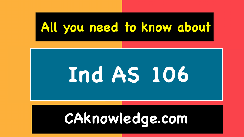 Ind AS 106