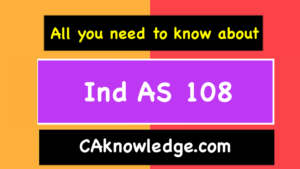 Ind AS 108