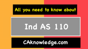 Ind AS 110