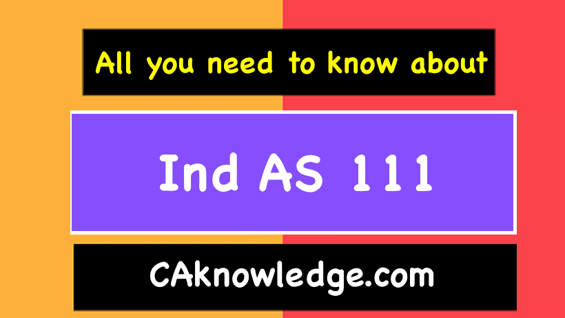 Ind AS 111