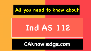 Ind AS 112