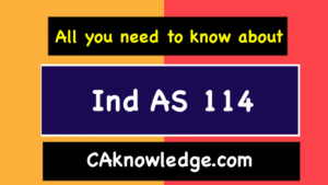 Ind AS 114