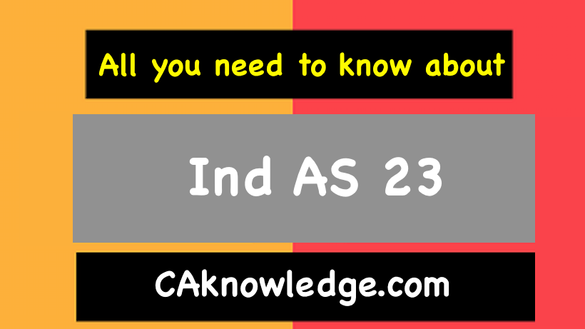Ind AS 23