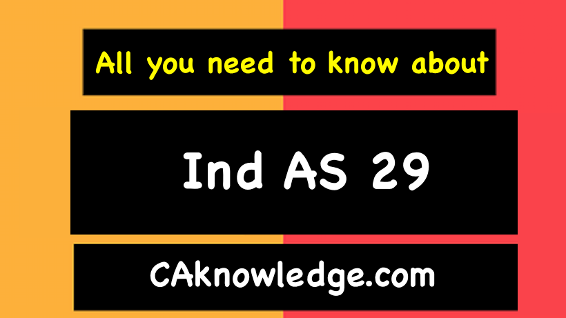 Ind AS 29