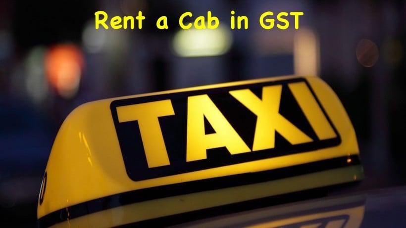 Rent a Cab in GST