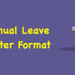 Annual Leave Letter Format