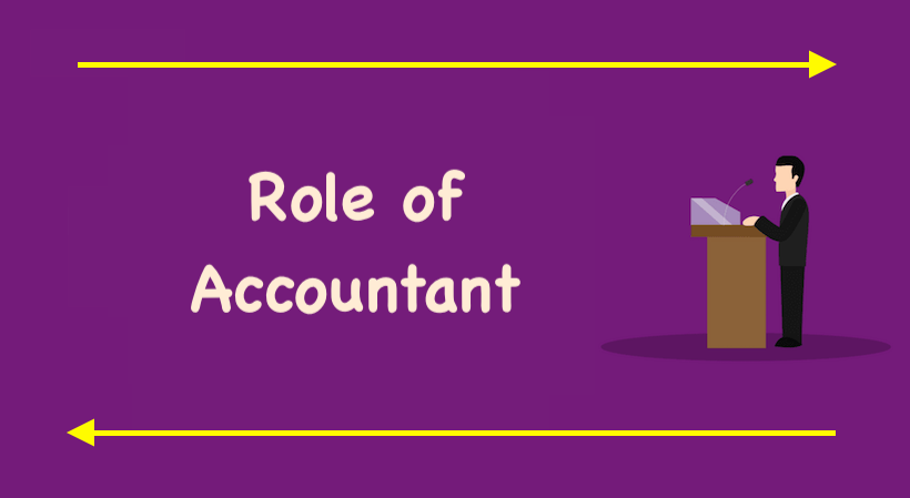 the role of an accountant in an organization The role and expectations of a cfo a global debate on preparing accountants for finance leadership discussion paper.