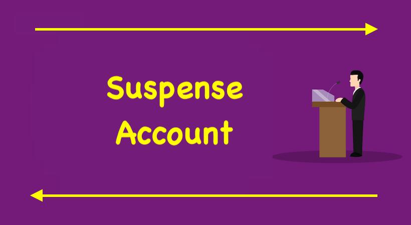 Suspense Account