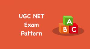 UGC NET Exam Pattern