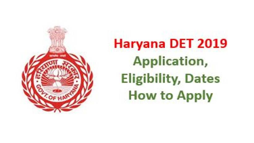 Haryana DET 2019