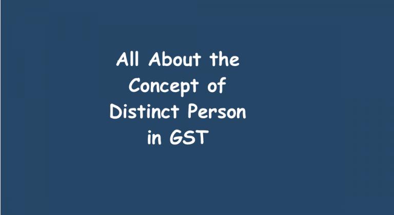 Distinct Person