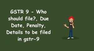 GSTR 9